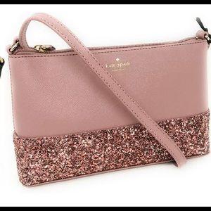 Kate Spade Greta Court Ramey Glitter Crossbody Bag